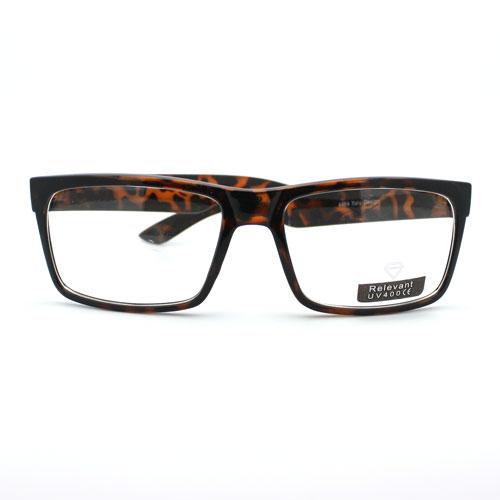 Glasses Frames Black On Top Clear On Bottom : Classic Rectangular Eye Glasses Frame Clear Lens Optical ...