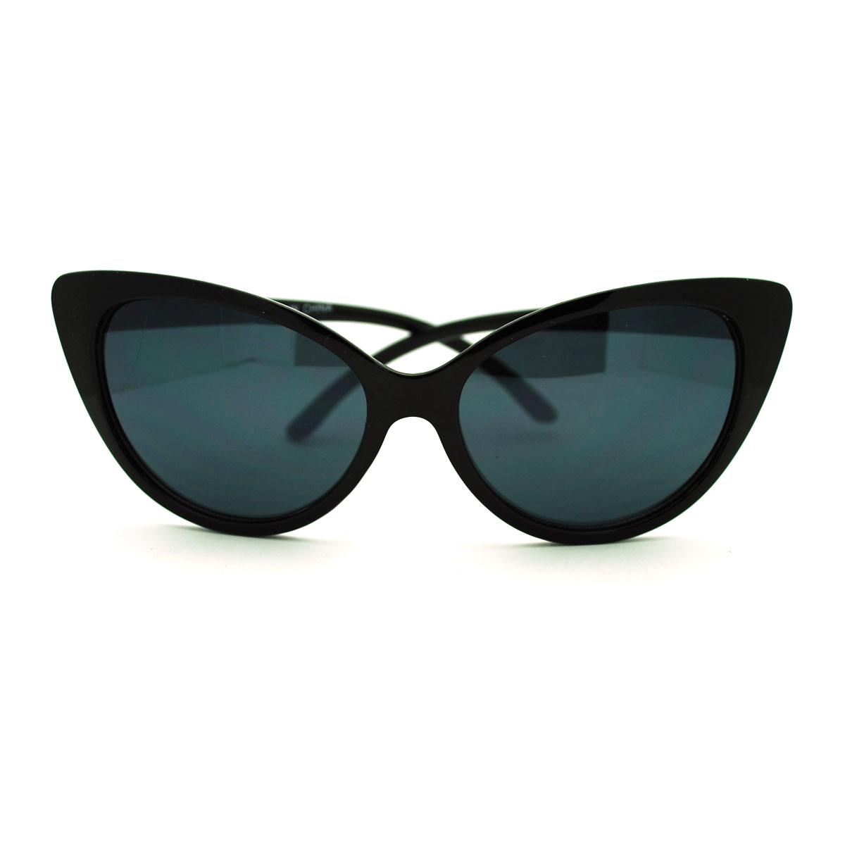 Classic Womens Sunglasses  50s style women 039 s classic cat eye sunglasses ebay