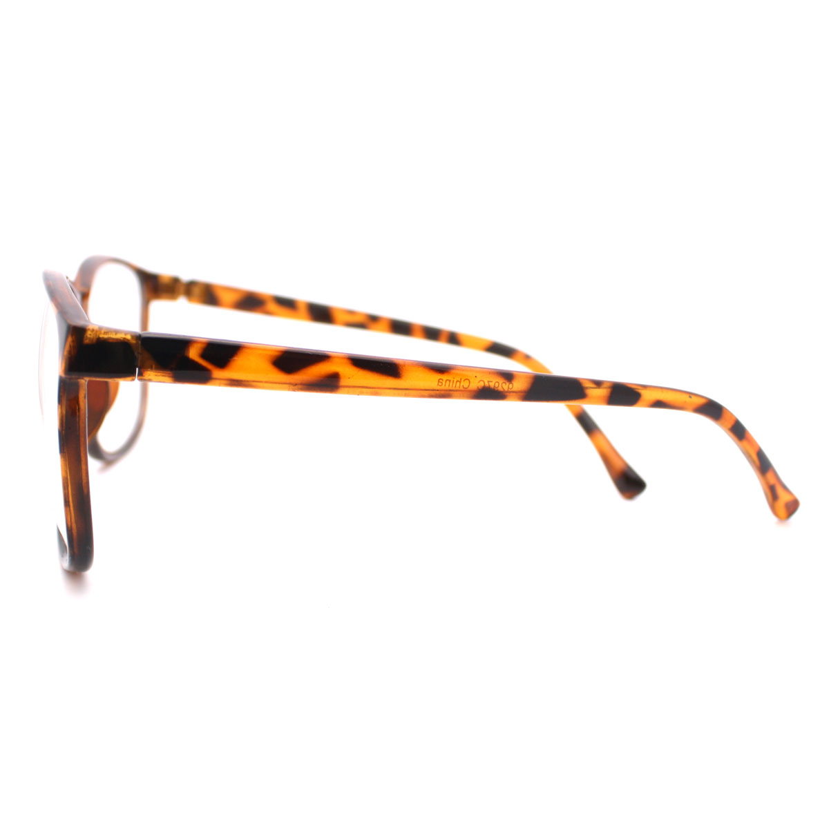Large Thin Frame Glasses : Tortoise Brown Large Nerdy Clear Lens Thin Horn Rim Geek ...