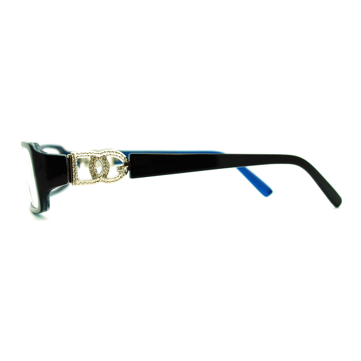 Glasses Narrow Frame : Womens Sexy Extra Narrow Rectangular Plastic Frame Eye ...