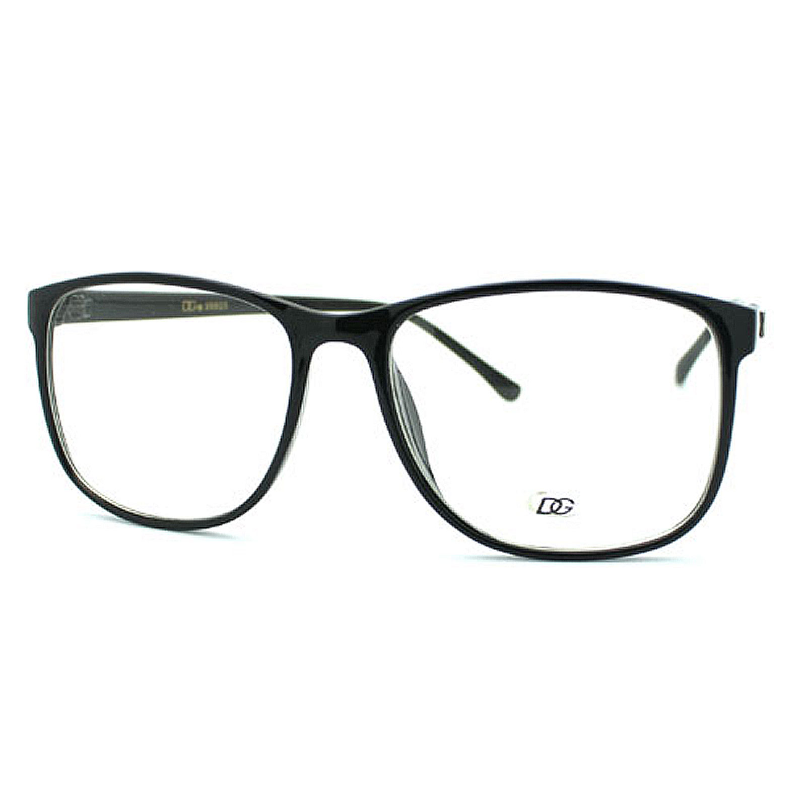 New Nerd Fashion Eye Glasses Clear Lens 2-Tone Black ...