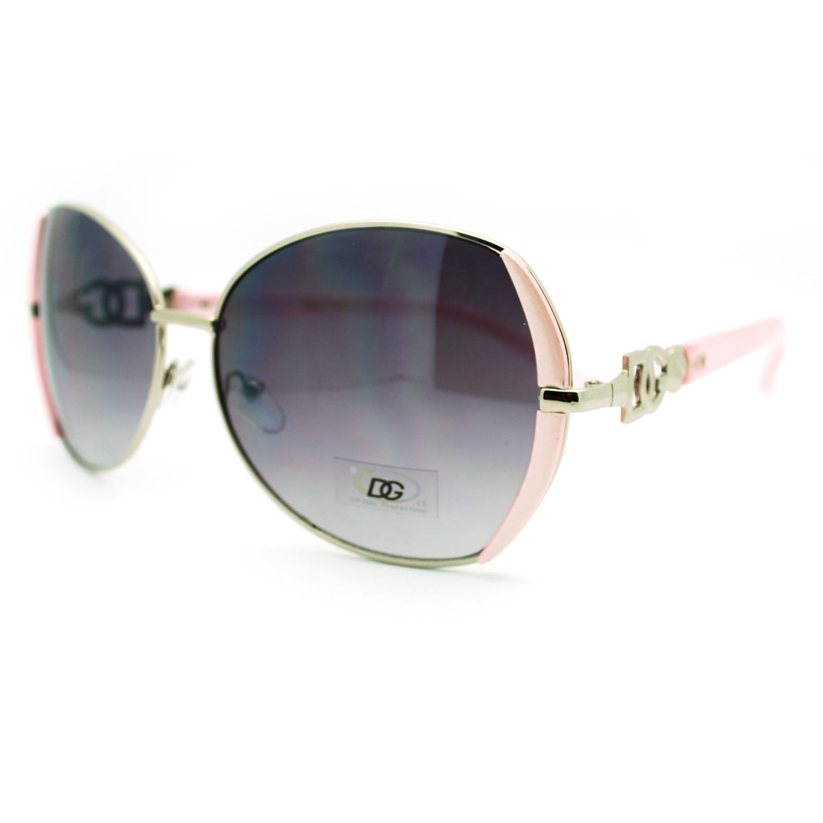 Buckle Sunglasses  metal rim erfly designer fashion sunglasses with belt buckle