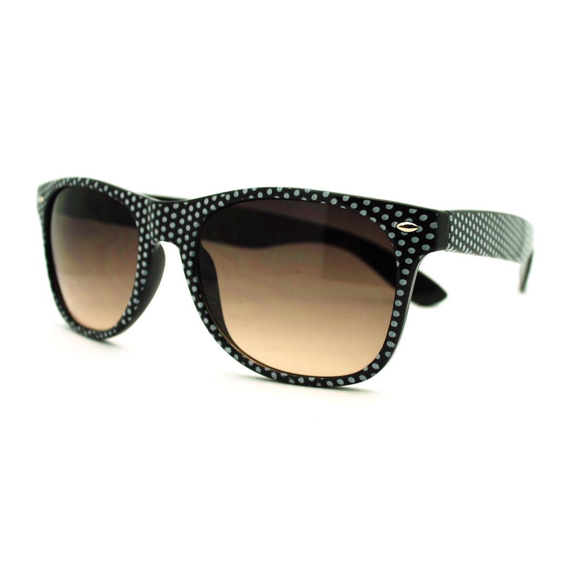 classic wayfarer 50mm polarized sunglasses  patterned wayfarer