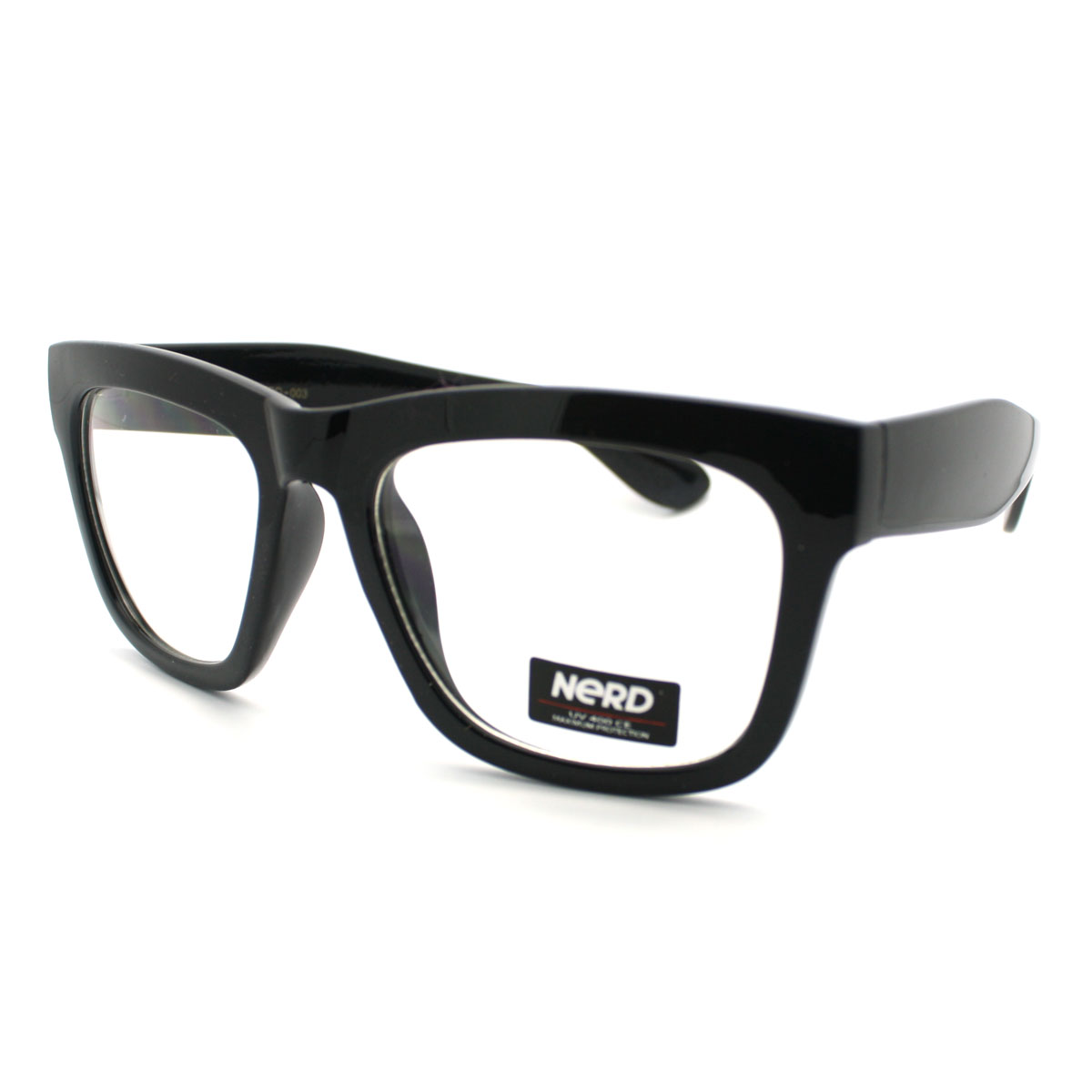 new black thick eyeglass frame oversized wayfarer unisex optical glasses