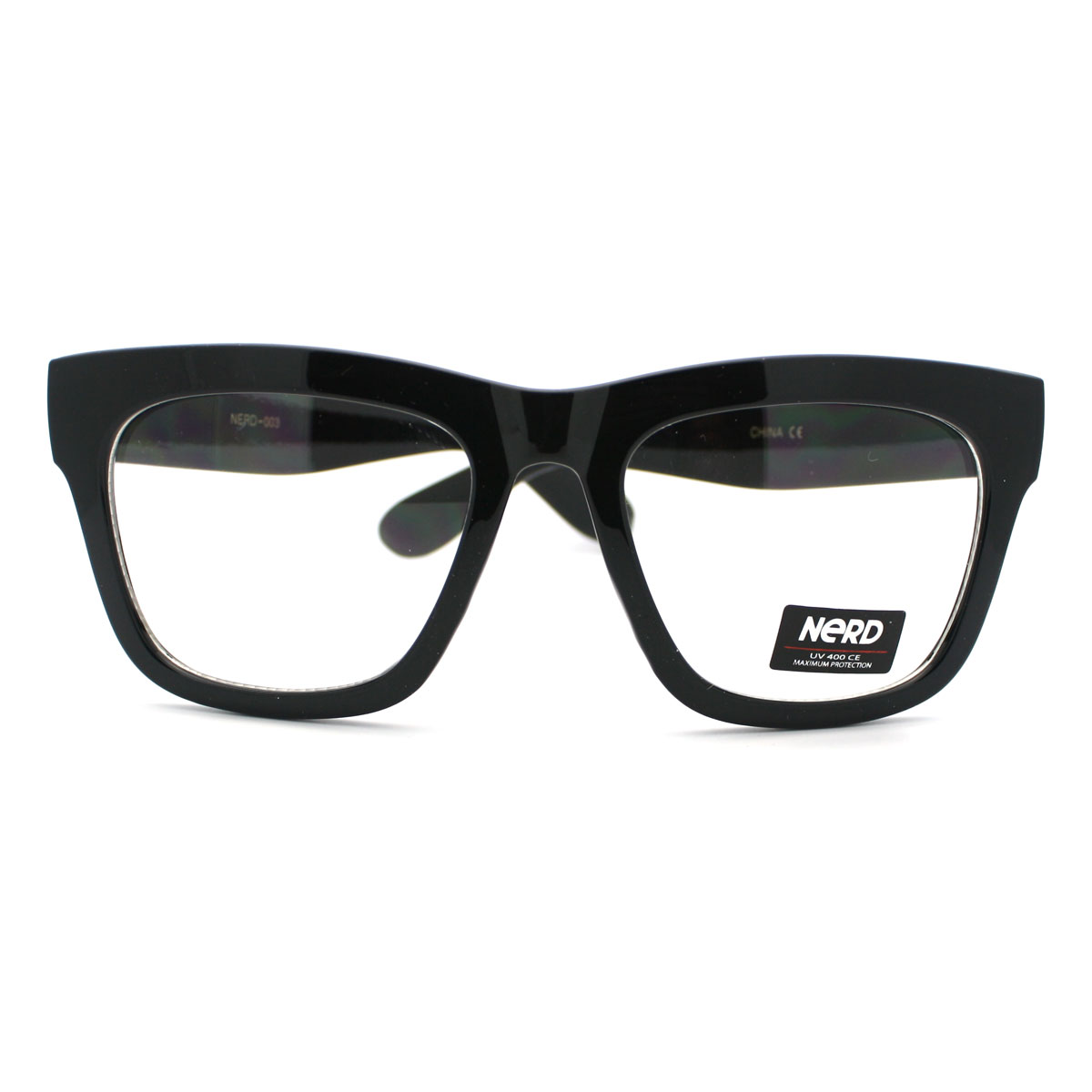 Glasses Frames Thick Black : New Black Thick Eyeglass Frame Oversized Unisex Optical ...