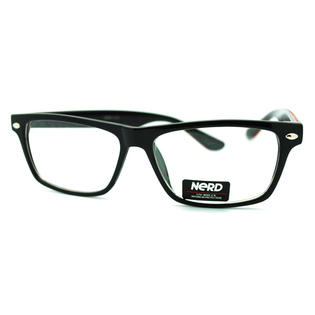 Glasses Frames Too Narrow : Trendy Narrow Rectangular Clear Lens Eye Glasses with ...