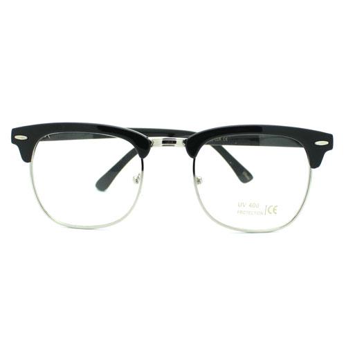 Half Frame Horn Rimmed Glasses :  eBay