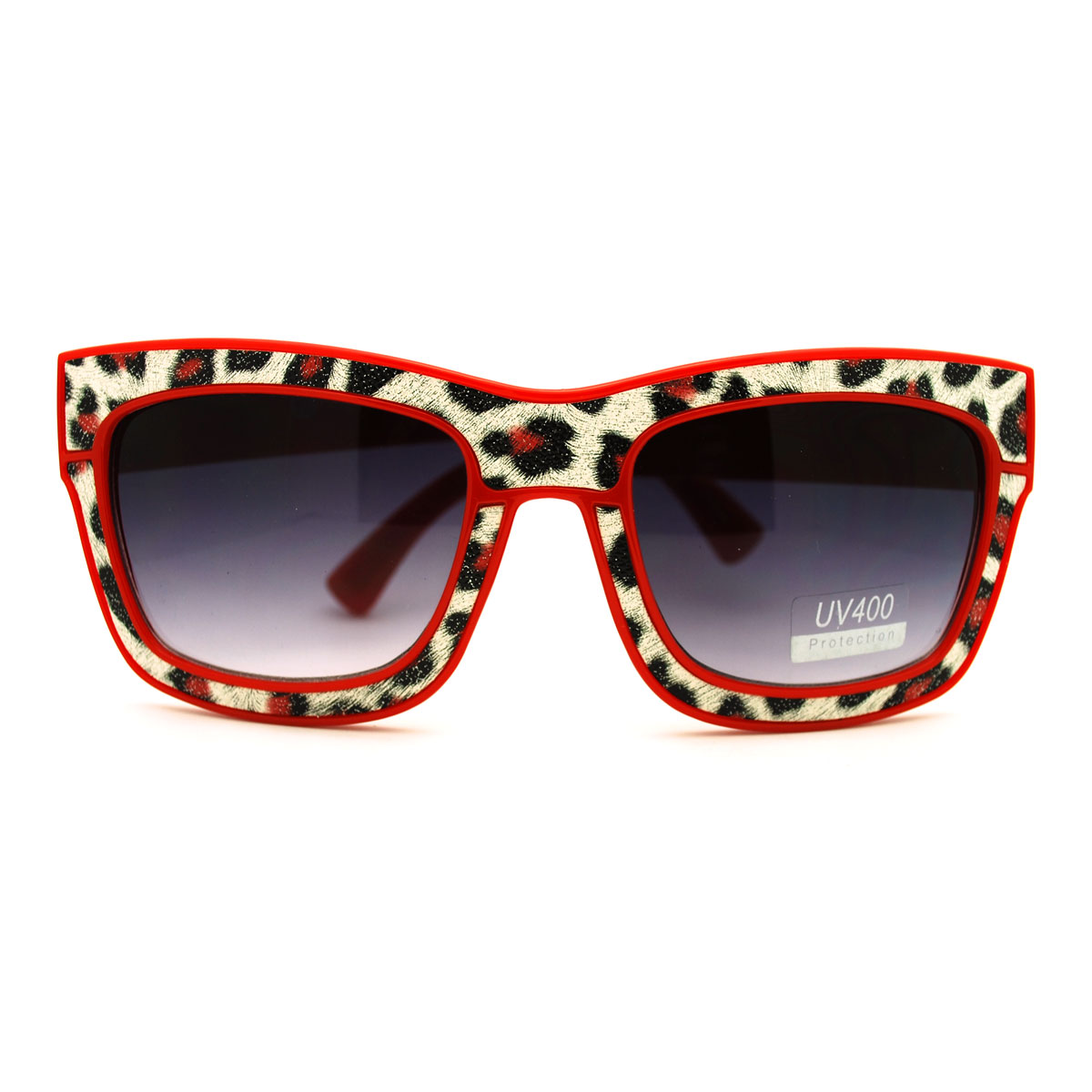Animal Print Cat Eye Sunglasses