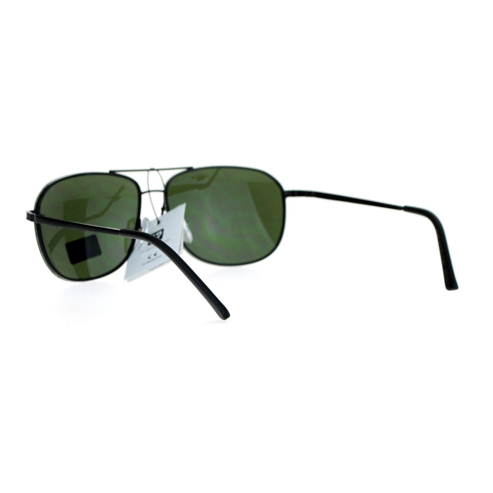 Rimless Aviator Sunglasses : SA106 Air Force Mens Mirrored Rimless Aviator Sunglasses ...
