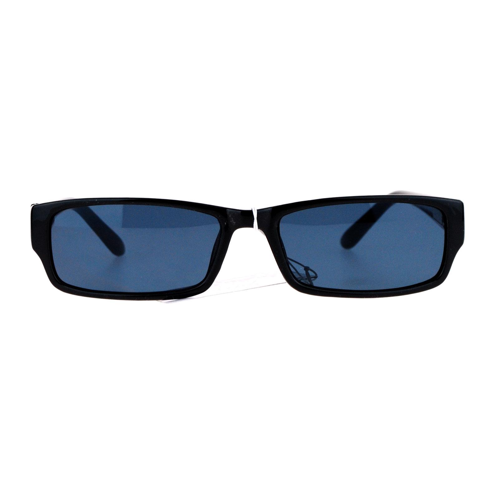 Sa106 narrow rectangular classic plastic pimp mens sunglasses for Square narrow shape acrylic