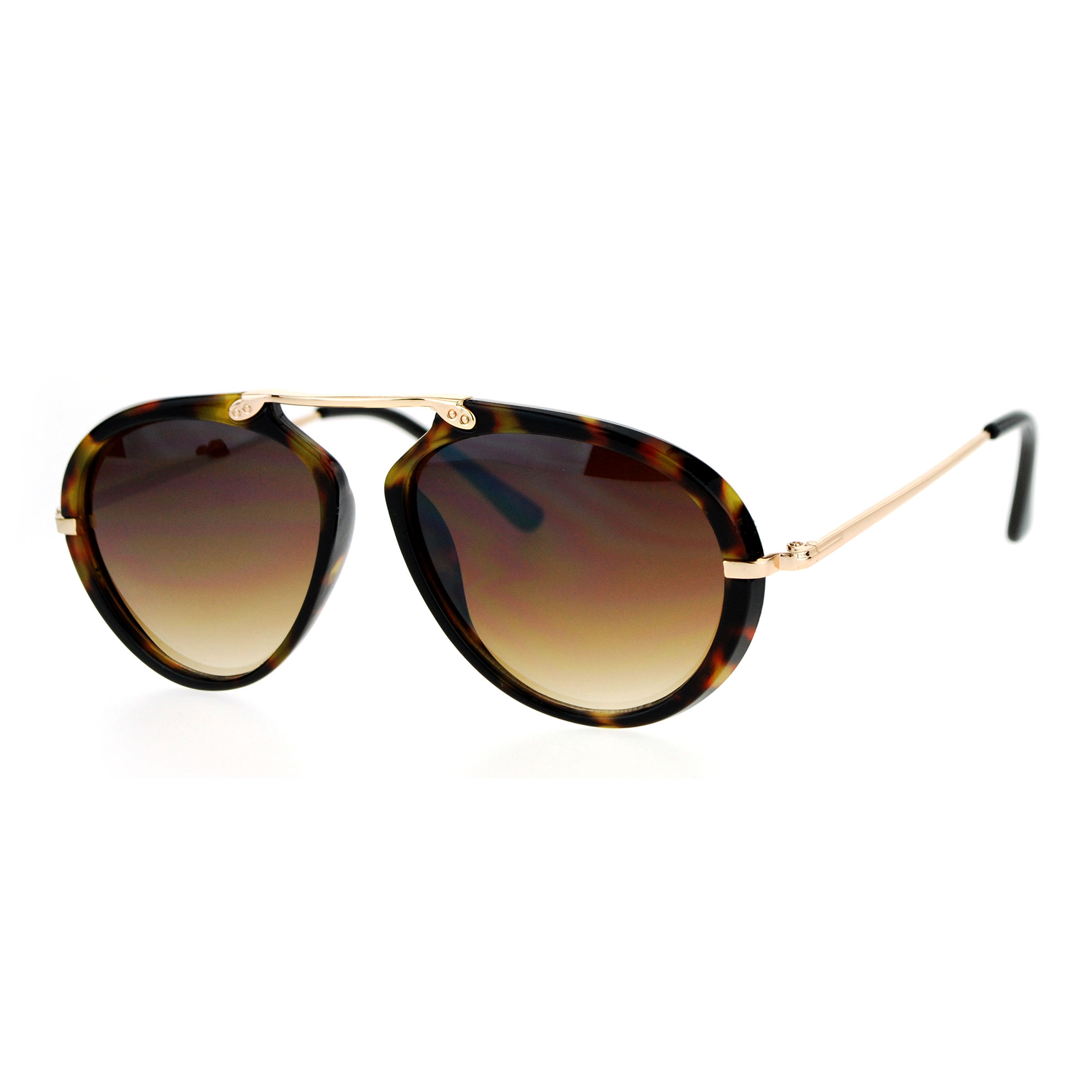Flat Top Aviator Sunglasses  sa106 retro flat top bridge racer plastic aviator sunglasses ebay