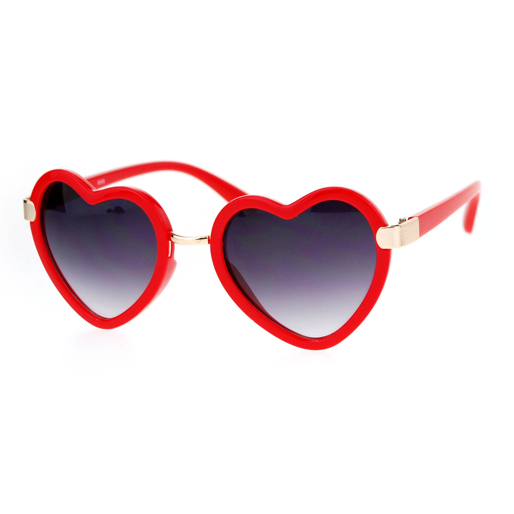 Sa106 Heart Shape Womens Valentine Sunglasses Ebay