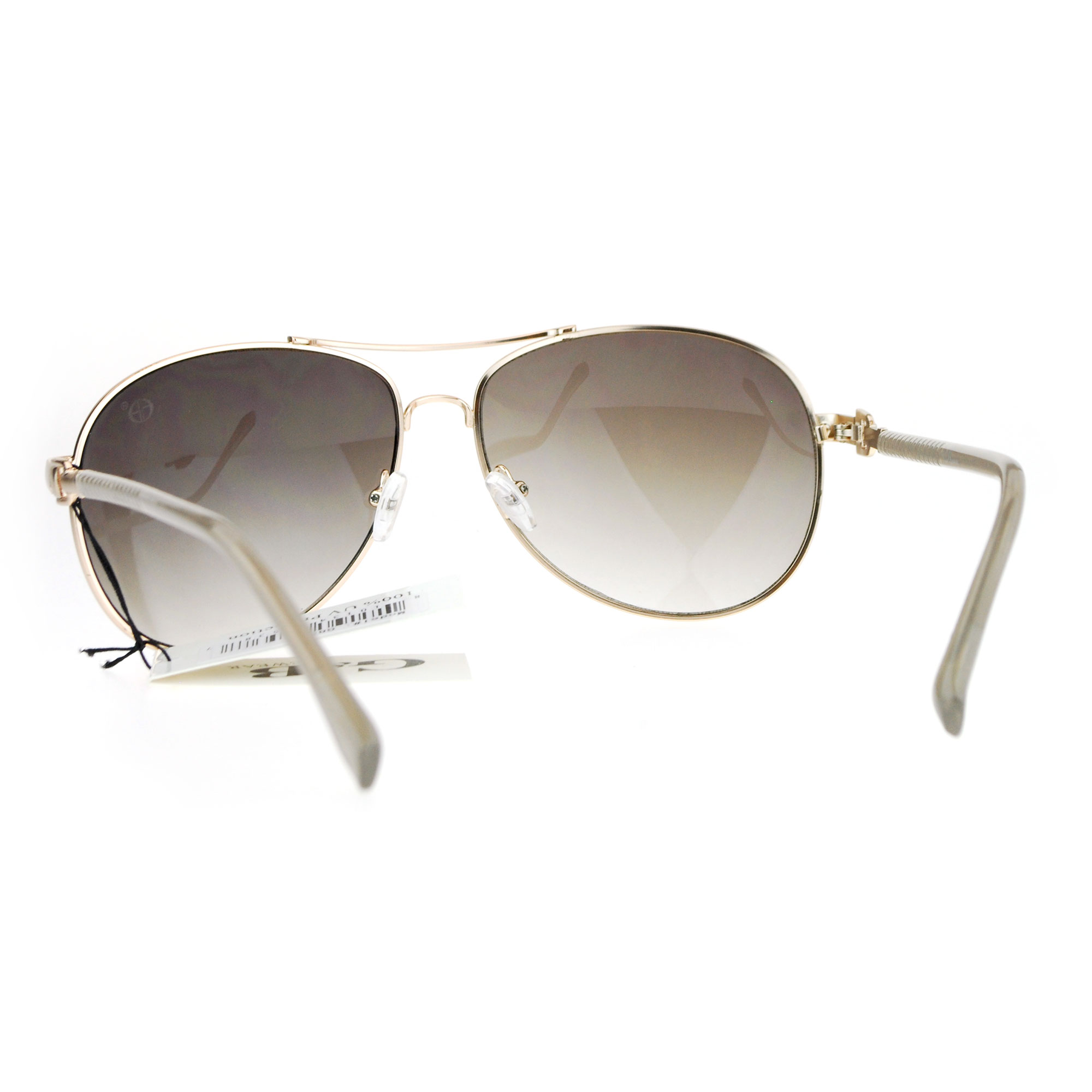aviator sunglasses designer  Womens Jewel Hinge Designer Luxury Aviator Sunglasses