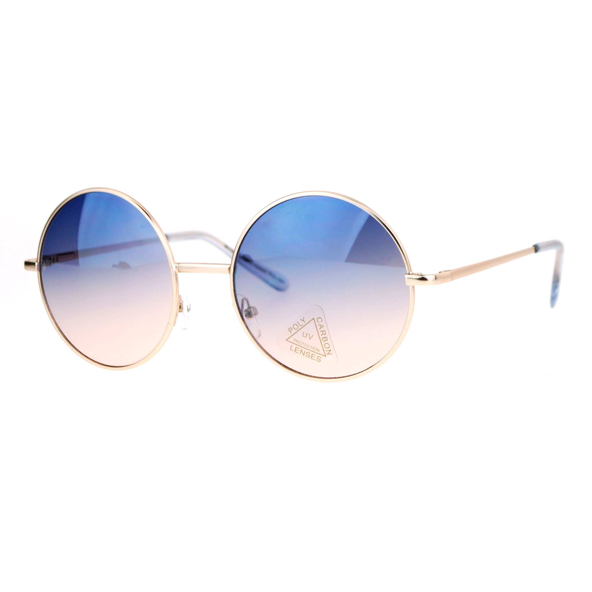 Ray ban sunglasses circle - Image Is Loading Sa106 Oceanic Color Lens Round Circle Hippie Sunglasses