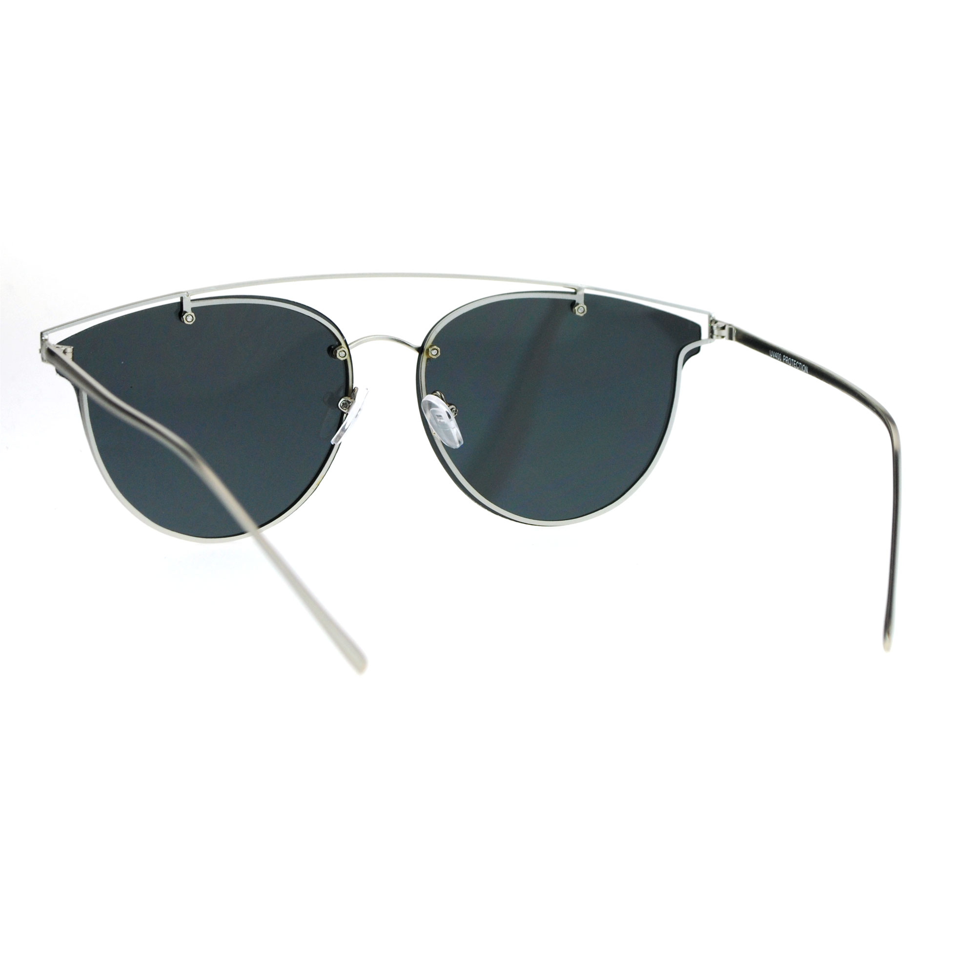 Rimless Wire Glasses : SA106 Flat Panel Unique Rimless Wire Bridge Horn Rim ...