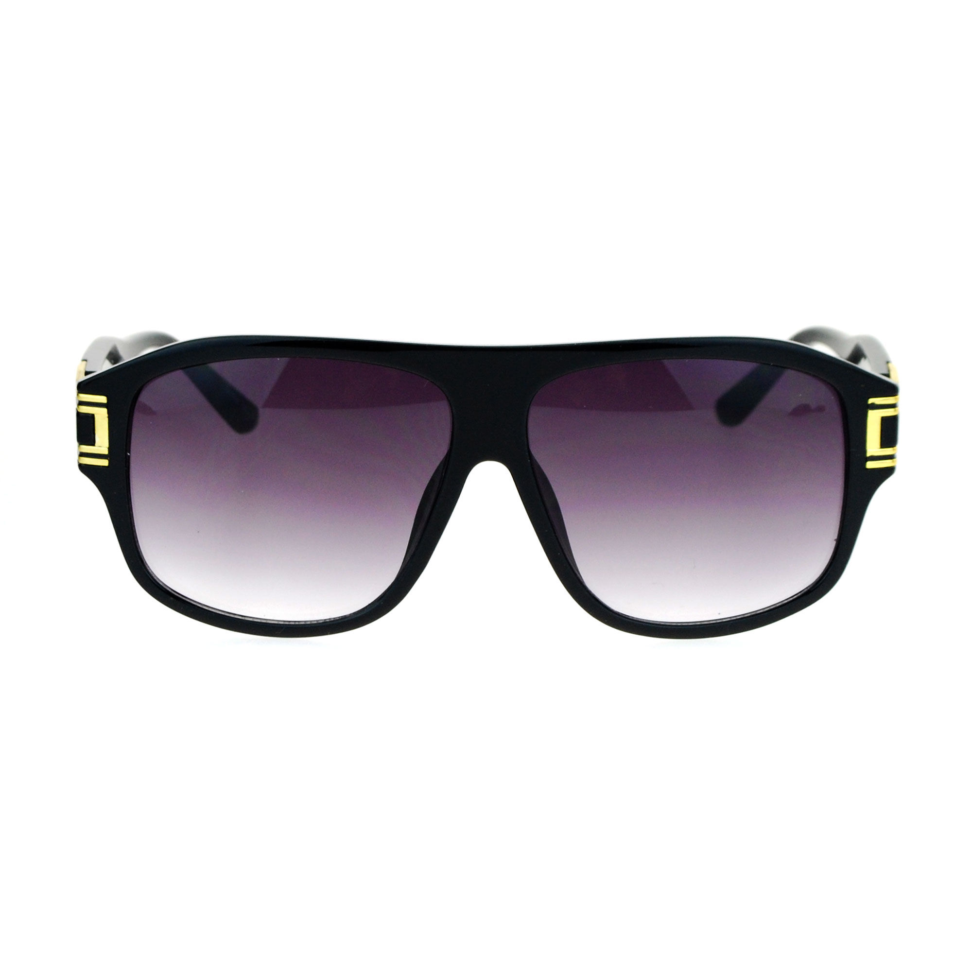 Flat Top Sunglasses  mens luxury mafia mob racer flat top sunglasses ebay