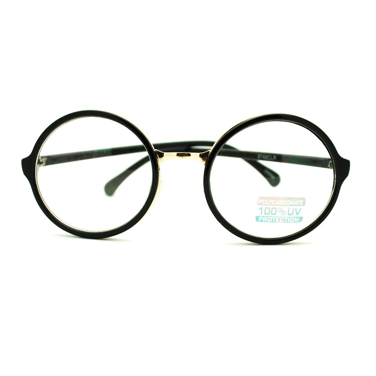 3226771d8d Details about Celebrity Gentleman Color Mirror Circle Lens Round Eye Glasses